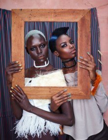 africa rising models.com ajak deng sudanese models, maria borges onerandomchick