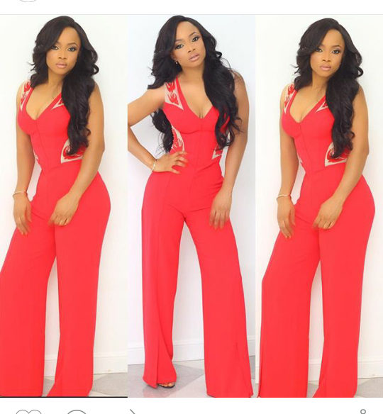 Toke Makinwa shares inspiring story about her ex