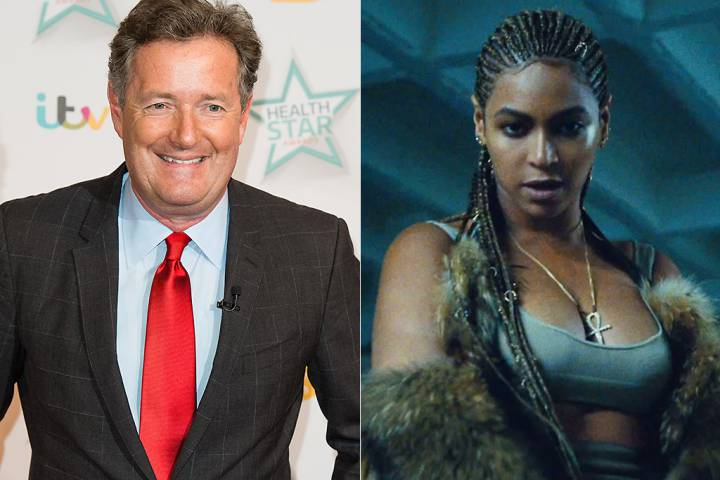 piers morgan beyonce lemonade