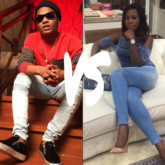 wizkid and linda ikeji fioght, why i reported him to police