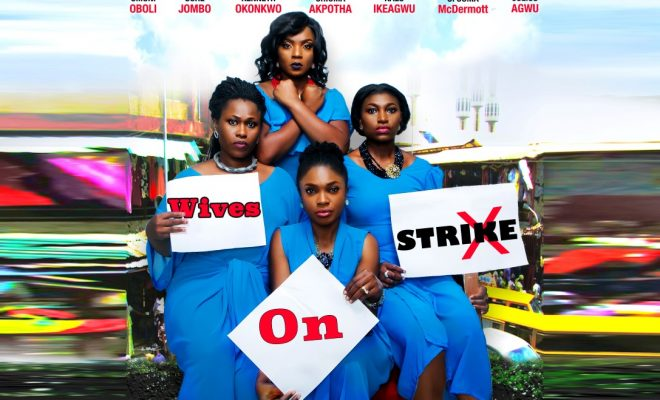 omoni oboli, chioma akpotha, ufuoma mcdermott, wives on strike