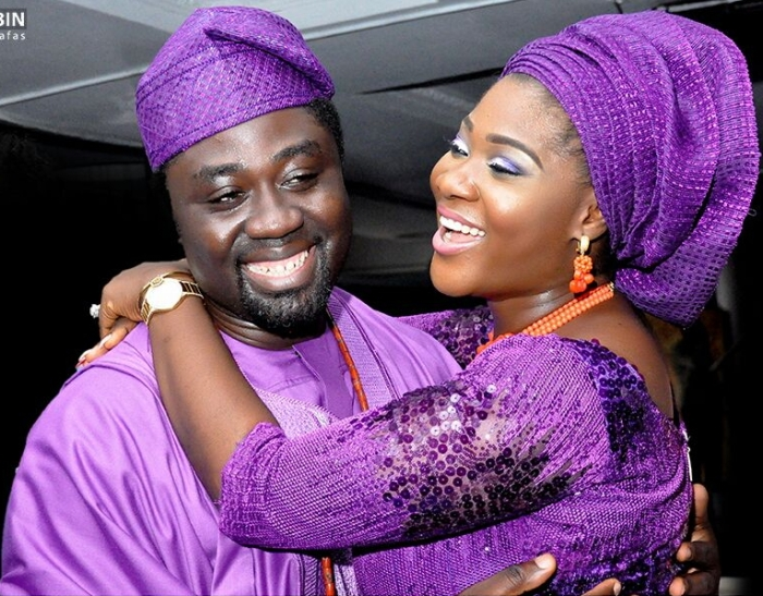 mercy johnson okogie and her husband 5th wedding anniversary