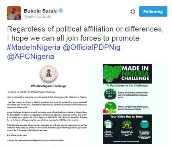 MAde in Nigeria challenge