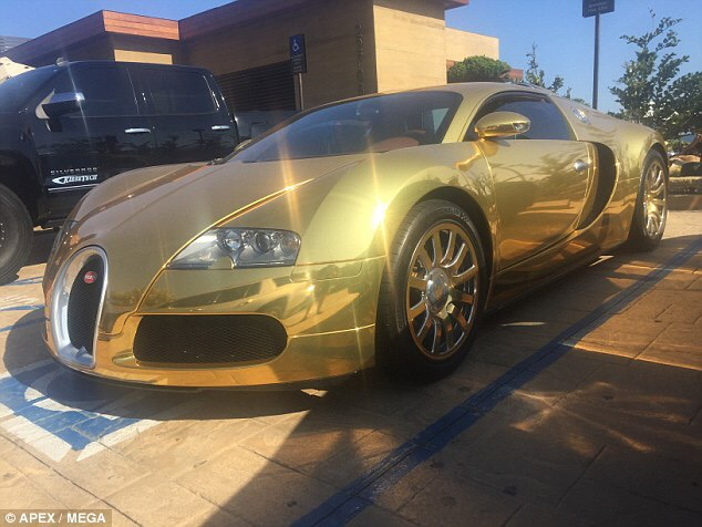 Intimidating shout bugatti